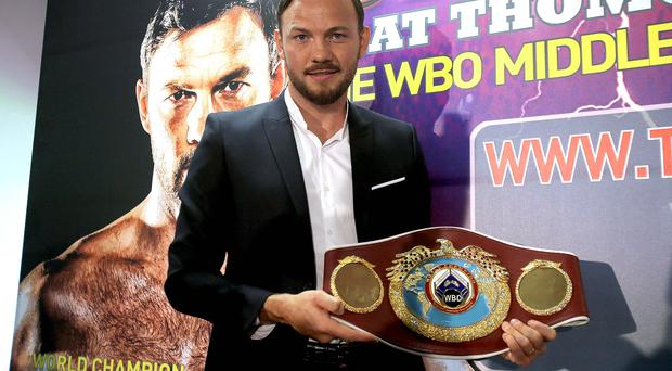 King of the World: Andy Lee is putting WBO belt on the line