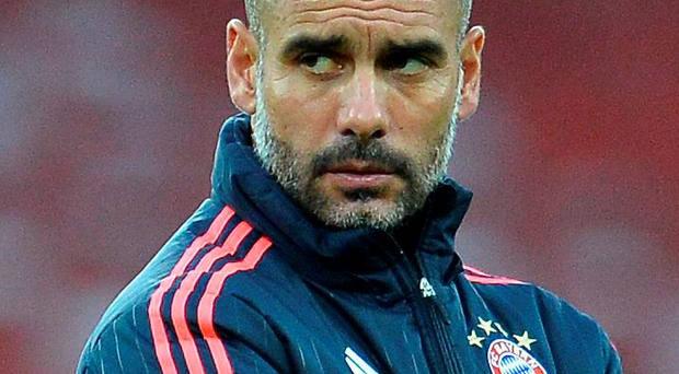Pep Guardiola is stepping down as Bayern Munich manager