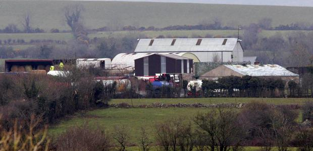 Thomas 'Slab' Murphy's extensive south Armagh farm complex
