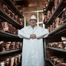 Butcher Peter Hannan pictured at his Moira factory shop