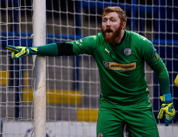 Title battle: Conor Devlin is confident Cliftonville will wrest the league from Crusaders' grasp