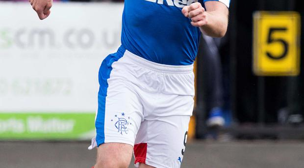 Rangers' Kenny Miller faces his old club Hibs on Monday