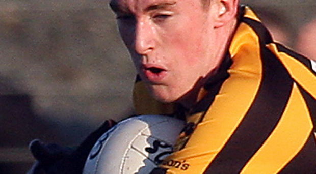Bittersweet: St Eunan's Rory Carr hit scores before injury