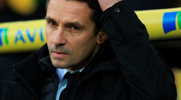 Pressure: Villa boss Remi Garde faces a survival fight