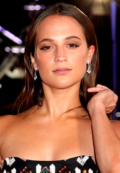 EMBARGOED TO 0001 TUESDAY DECEMBER 29 File photo dated 08/12/15 of Alicia Vikander who said she was