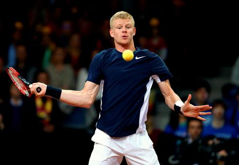 Straight in: Kyle Edmund is in the Aussie Open main draw