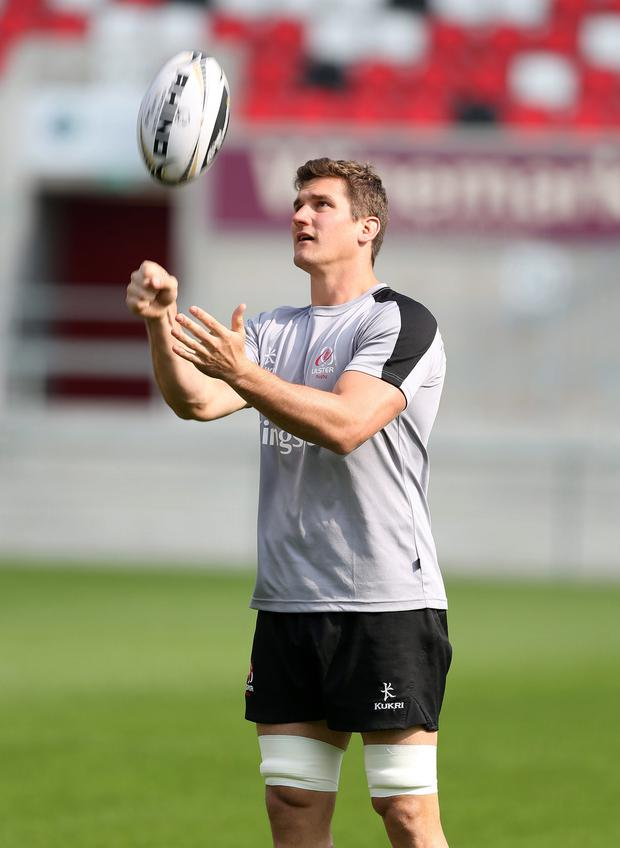 Eyes on the prize: Robbie Diack wants Ulster to maintain their momentum and carry their form into the business end of the season