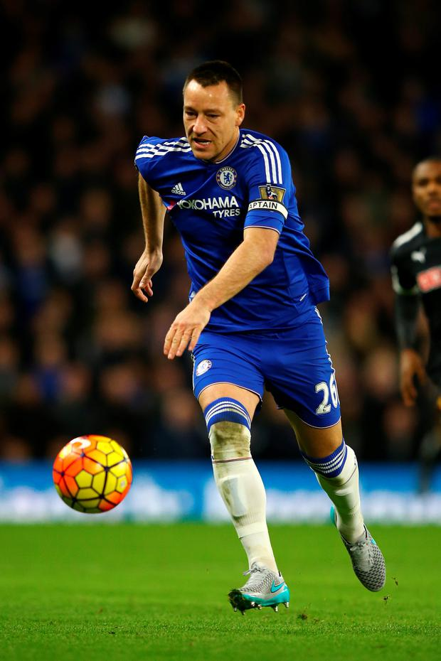 Right direction: John Terry believes the worst is behind his side