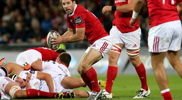 Tough spell: Tomas O'Leary and Munster are under fire, having lost five consecutive games