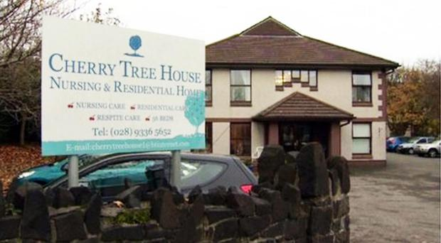 Cherry Tree House nursing home in Carrickfergus