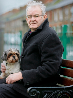 Credit - Kevin Scott Belfast, UK - January 01 , Pictured is Alan Black survivor of the Kingsmill massacre on January 01, 2015 ( Photo by Kevin Scott )