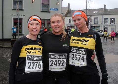 Press Eye - Kilbroney Park - Belfast Telegraph Run Forest Run Race - 2nd January 2016 Photograph By Declan Roughan The 5th Born2Run Belfast Telegraph Run Forest Run at Kilbroney Park, Rostrevor, Co Down. Dianne Cordner, Alanna Meeke and Shirley Smith from Dromore