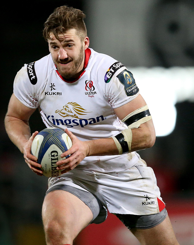 Just reward: Stuart McCloskey is one of a number of Ulster players called up for Ireland