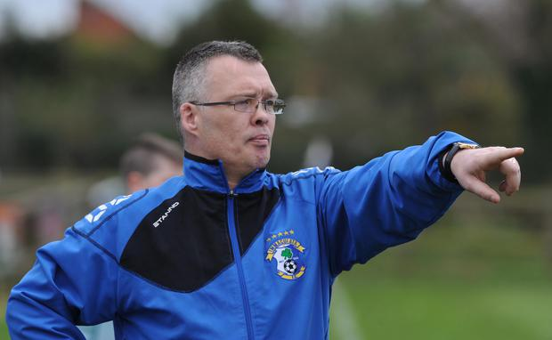Immaculata manager Kevin Lawlor
