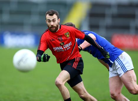 Making his mind up: Conor Laverty is deciding whether or not to commit to Down for another campaign