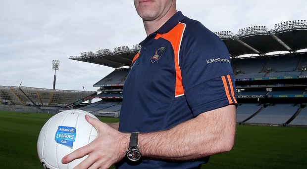 On the lookout: Armagh boss Kieran McGeeney is eyeing up a number of Crossmaglen stars as he plans for 2016