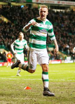 Winner: Leigh Griffith's scored as Celtic beat Partick 1-0