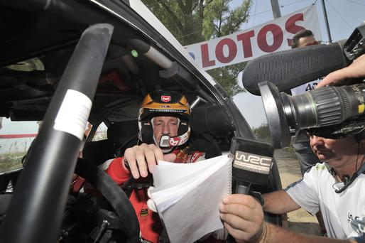 Making plans: Kris Meeke has busy schedule