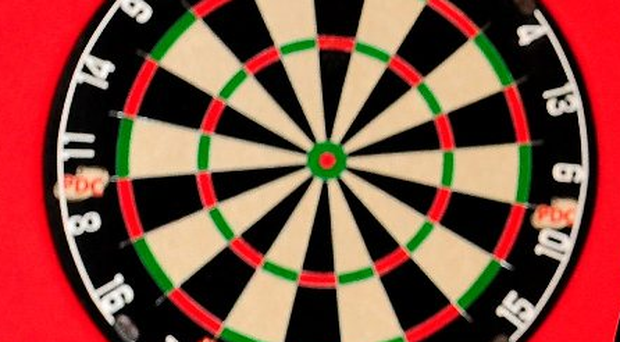 Regrets: Martin Adams blamed missed doubles for his first round exit from the BDO World Championship at the hands of Jeff Smith