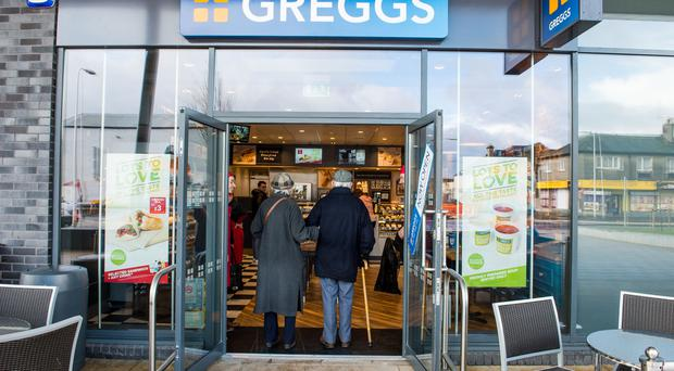 Greggs is eyeing up as many as 50 stores in Northern Ireland