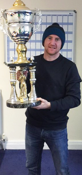 Prize guy: Paddy Barnes with the WSB best boxer trophy
