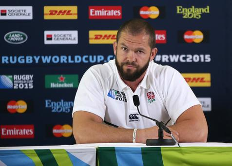Big reputation: Andy Farrell is now the Ireland defence coach after his stint as England assistant coach