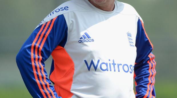 Something special: England coach Trevor Bayliss is excited after England's three-day victory