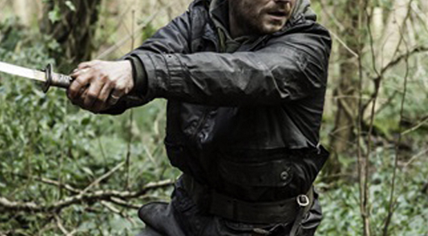 Martin McCann in a scene from The Survivalist