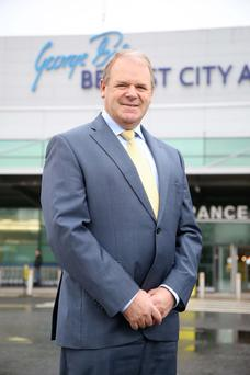 Belfast City Airport chief executive Brian Ambrose