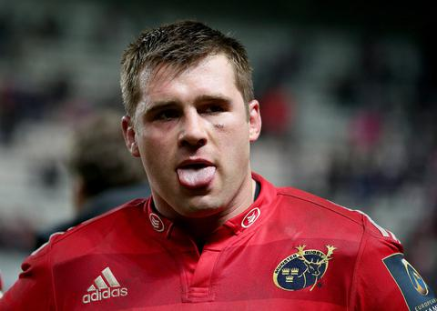 On his own: CJ Stander is the only Munster ace impressing