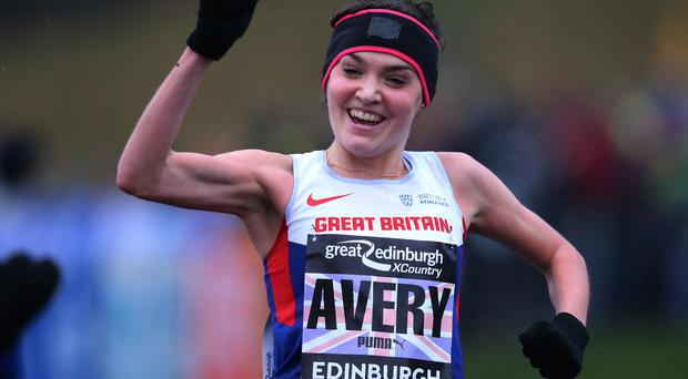 Striding forward: Kate Avery hopes to shine at Greenmount