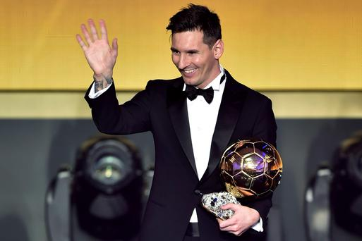 Number one: after seeing Cristiano Ronaldo beat him to the Ballon d'Or for two consecutive years, Lionel Messi bounced back to claim the trophy for the fifth time