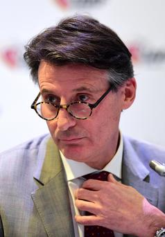 On a mission: Lord Coe is out to tackle the drugs cheats
