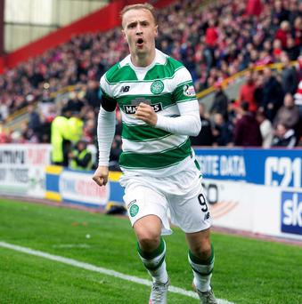 Staying focused: Celtic's Leigh Griffiths will be professional