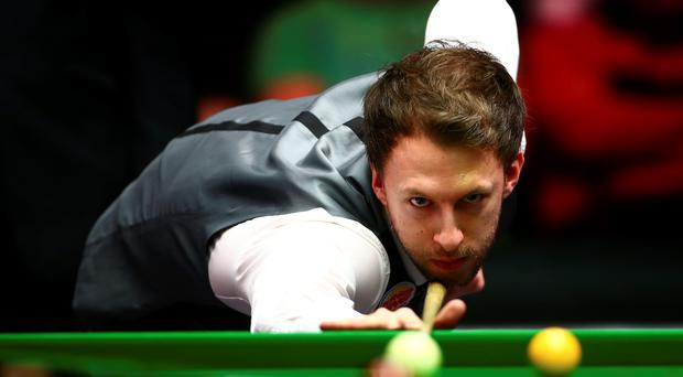 Right on cue: Judd Trump