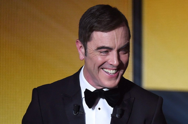 James Nesbitt during the 2015 FIFA Ballon d'Or award ceremony