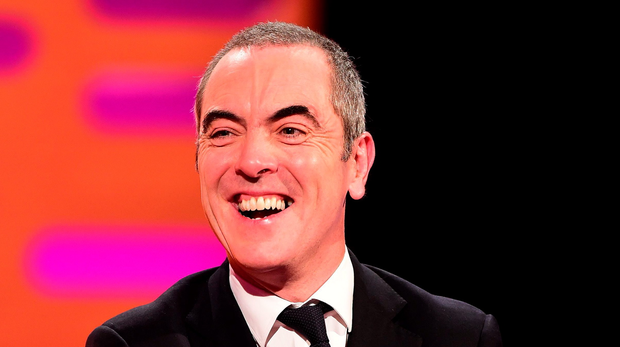 James Nesbitt during the filming of the Graham Norton Show at The London Studios, south London.
