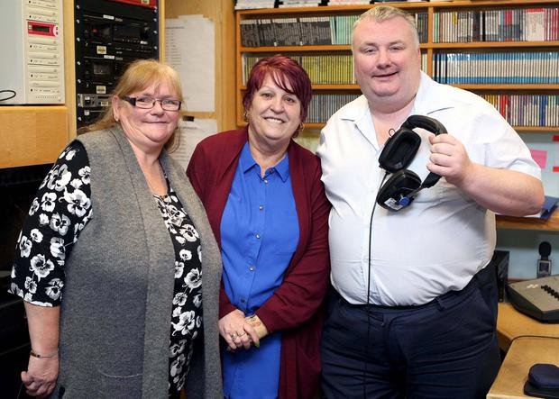 Marie Aldridge, Anne Marie Lee and Stephen Nolan.