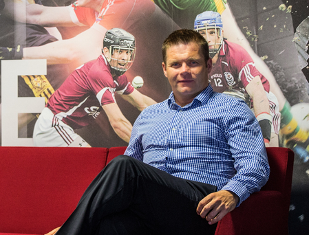 With the programme: Dessie Farrell, CEO of the GPA, is helping players mix their sporting and personal lives