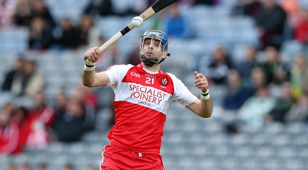 Liam Hinphey has called time on his Derry career