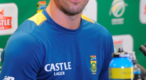 JOHANNESBURG, SOUTH AFRICA - JANUARY 13: AB de Villiers during the South African national cricket team training session and captain's press conference at Bidvest Wanderers Stadium on January 13, 2016 in Johannesburg, South Africa. (Photo by Lee Warren/Gallo Images/Getty Images)