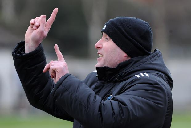 Shankill United manager Robert Robinson hopes to orchestrate a shock Intermediate Cup win against Championship One side Bangor