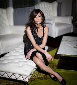 Sharon Corr who has talked about living in Dundalk during the Troubles