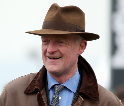 Top man: Willie Mullins wants Irish Champion Hurdle glory