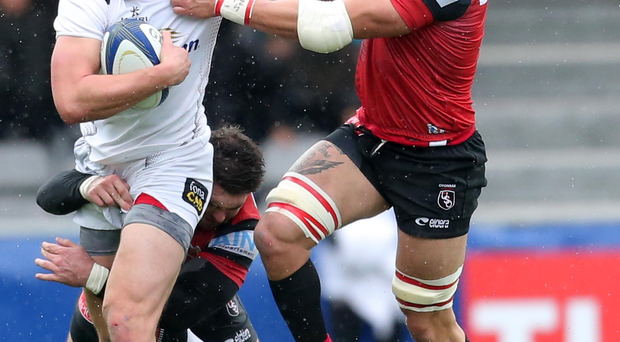 Big impact: Stuart McCloskey has been to the fore for Ulster this season and is hoping to get a place in Ireland's Six Nations plans