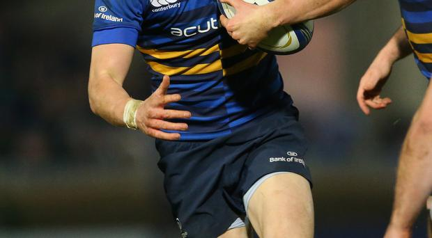 In the running: Garry Ringrose has impressed for Leinster