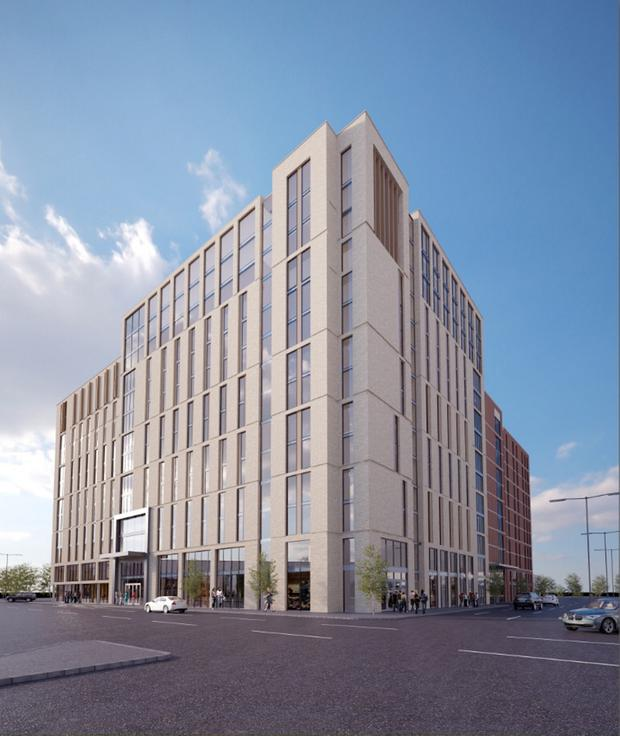 The 682-bedroom project at York Street by UK firm UniCiti