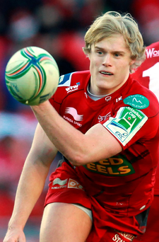 New face: Aled Davies is yet to feature for the Welsh