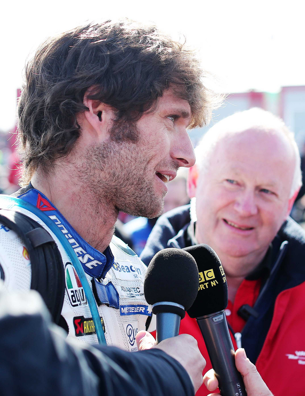 Sound bite: Guy Martin sounds off at last year's NW200