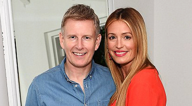 Delighted parents Patrick Kielty and Cat Deeley